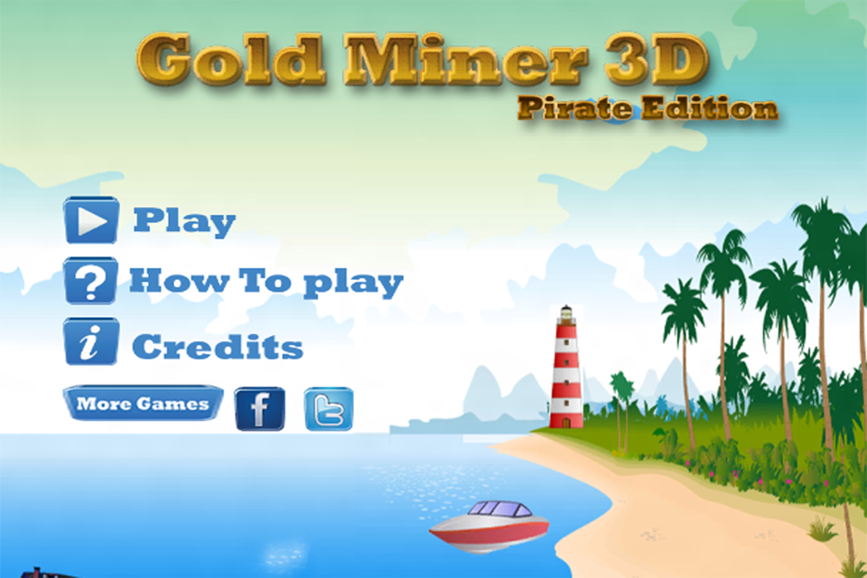 Screenshot Gold Miner 3D